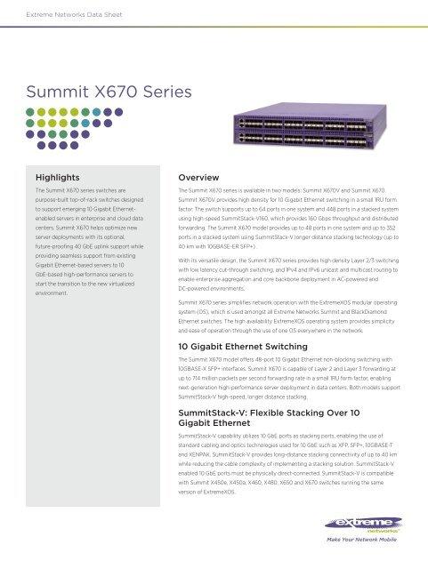 EXTREME NETWORKS 10312 // passive copper cable assembly 1m length INC 40 Gigabit Ethernet QSFP