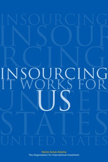 Insourcing - Organization for International Investment