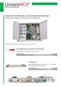Hausverkabelung Univers MCS - Kablan AG - Seite 4