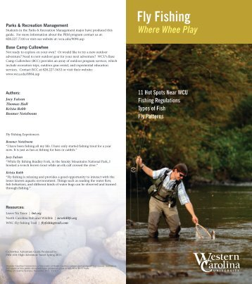 Fly Fishing - Western Carolina University