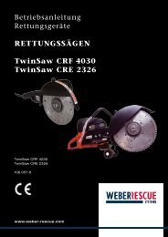 Betriebsanleitungen TwinSaw - WEBER Rescue