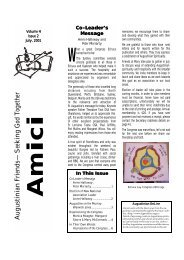 AMICI - The Augustinians in Australia