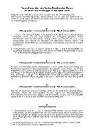 Verordnung über den Verkauf bestimmter Waren an Sonn- und ...