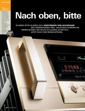 Audio 8/2004 - PIA - HiFi Vertriebs GmbH
