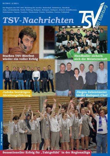 TSV-Nachrichten 2/2011 - des TSV 1861 Mainburg eV