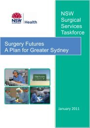 Surgery Futures: A Plan for Greater Sydney ( pdf - 761 KB) - ARCHI