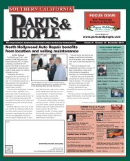 North Hollywood Auto Repair benefits from location ... - Parts & People