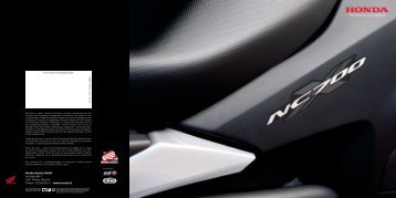 NC700X (PDF, 3.8 MB) - Honda