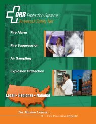ORR Protection Systems [Capabilities Brochure 2010]