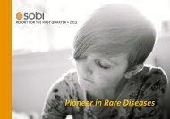 Interim report Jan-Mar, 2013 - Sobi