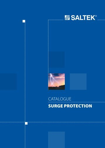 catalogue SURGE PROTECTION