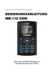 MB-110 GSM - Hyundai Technologies