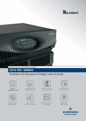 GXT2 700 - 6000VA Onduleur On-line pour Protéger ... - Onduleurs