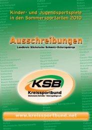 Ausschreibung KJSS - Kreissportbund Sächsische Schweiz ...