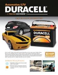 EHP Flyer - Drive Duracell