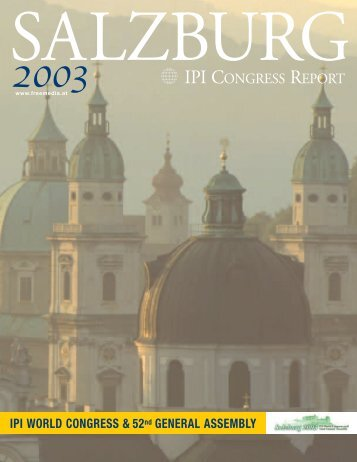 IPI CONGRESS REPORT - IPI World Congress