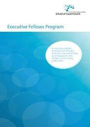 Executive Fellows Program - Australian Public Service Commission