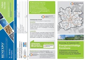 Programm und Einladung - Europäische Metropolregion München