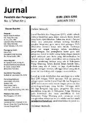 Jurnal Pendidikan dan Pengajaran - PDII – LIPI