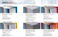 Organische Systeme - KABE Farben