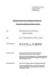 Onkologischer Arbeitskreis Paderborn-Höxter Husener Str. 46 ...