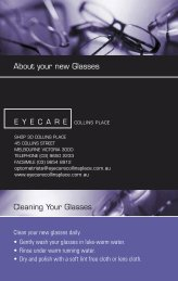 3757 (2985) ECP Guarantee flat - Eyecare Collins Place
