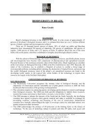 BIODIVERSITY IN BRAZIL - Daniel Advogados