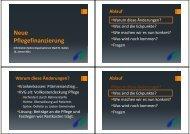 Neue Pflegefinanzierung - Spitex Verband Kt. St. Gallen