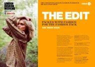 the vodafone london fashion weekend digital magazine