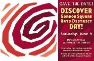 DISCOVER - Gordon Square Arts District