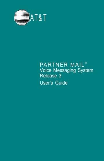Partner Mail User Guide