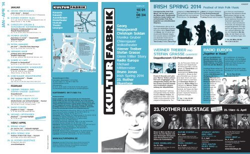 April 2014 - Kulturfabrik