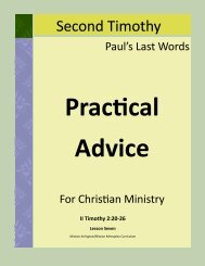 Practical Advice - Mission Arlington