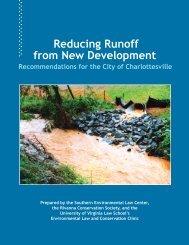 Reducing Runoff from New Development - Rivanna Conservation ...