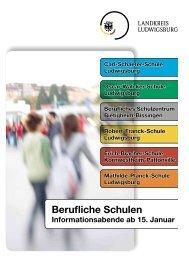 Sonderbeilage LKZ Berufliche Schulen - Landkreis Ludwigsburg