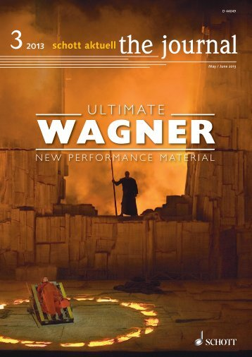 Richard Wagner - Schott Music