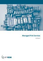 Managed Print Services - Bitkom