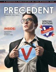 Summer 2012 vol 6, issue 3 - the Missouri Bar