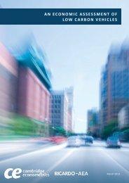 An Economic Assessment of Low Carbon Vehicles - Ricardo-AEA
