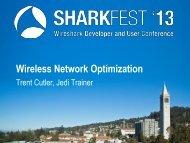 Wireless Network Optimization - Sharkfest