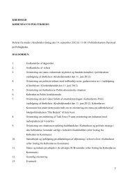 Læs referatet i PDF her - Politiets