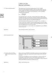 2. Basic circuits: Manual controllers - Intra lighting