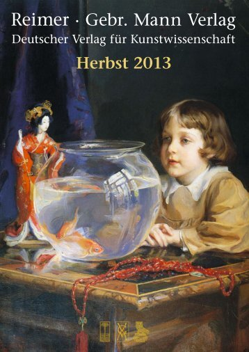 Vorschau Herbst 2013 - Gebr. Mann Verlag