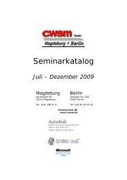 O Ich interessiere mich für folgendes Seminar - CWSM Gmbh