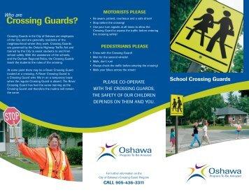 Crossing guards - City of Oshawa