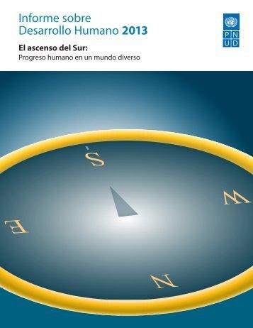 Informe sobre Desarrollo Humano 2013 - PNUD