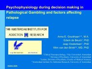 Psychophysiology During Decision Making In Pathological