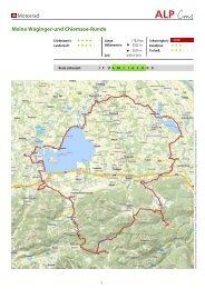 Motorrad Meine Waginger-und Chiemsee-Runde - Schneizlreuth