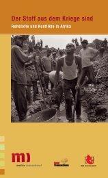 Der Stoff aus dem Kriege sind (PDF) - Nord-Süd-Netz