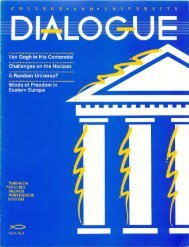No. 3 - College and University Dialogue - General Conference of ...